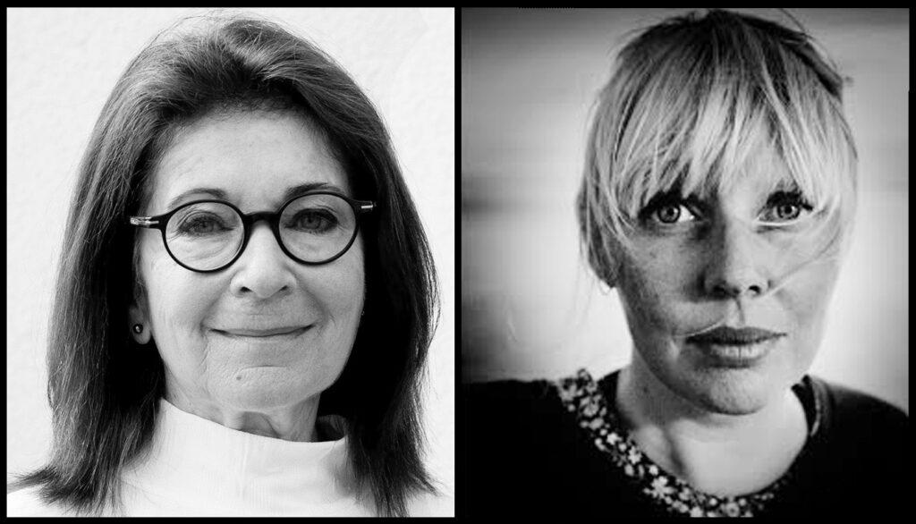 Monica Hirsch, journalist och författare, Maja Kristin Nylander, fotograf